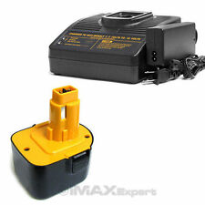 1+1 UPGRADE 12V 3.0AH NiMh Battery Charger ft DEWALT DC9071 DW9071 DW9072 DE9037
