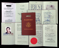 Indiana Jones Passport - High Quality Indy Prop - FREE SHIPPING