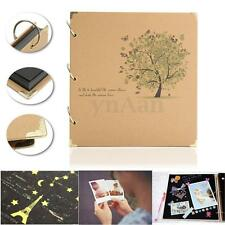 DIY Photo Album Scrapbook Diary Notebook Stamping Handmade Valentine's Day Gift