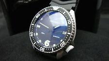 Vintage Seiko divers 7002 Auto MEGA MOD SCUBAPRO BLUE TINT SAPPHIRE Watch J11.