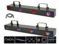 QTX Quadflower 4 Lense LED Moonflower Light Effect Wide Disco DJ Lighting DMX