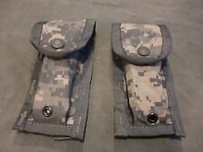 Lot of two (2) NEW MIilitary Surplus US Army ACU MOLLE II 9MM Mag Pouch