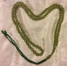 """IRAN BEAUTIFUL VINTAGE SHAH MAGHSOOD PRAYER BEADS.EXCELLENT CONDITION."""" 23""""."""
