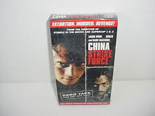 China Strike Force Screening Copy Promo VHS Video Tape Movie
