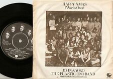 JOHN LENNON & YOKO ONO HAPPY XMAS (WAR IS OVER) DANISH 45+PS 1971 THE BEATLES