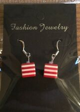 Where's Wally / Wenda Fancy Dress Costume Earrings