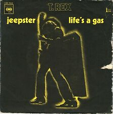 "7"" T. Rex – Jeepster / Life's A Gas / CBS 7653 // French 1972"