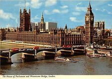 B87703 the house of parliament and westminster bridge london    uk