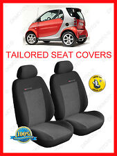 Tailored seat covers for Smart  ForTwo 1998 - 2007  grey2