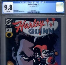PRIMO:  HARLEY QUINN #2 NM/MT 9.8 CGC 2001 HIGHEST Suicide Squad DC movie comics