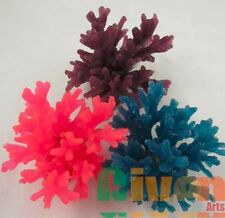 3xAquarium Fish Tank Silicone Sea Anemone Artificial Coral Ornament SH066