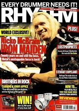RHYTHM DRUMMER MAGAZINE +CD 2006 SEP NICKO MCBRAIN, LOST PROPHETS, STEWART COPEL