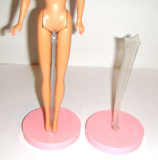 Barbie Doll Stands 2 Pink Stands For Barbie Dolls Repro st1