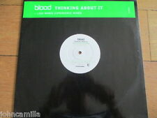 """BLOOD - THINKING ABOUT IT - 12"""" RECORD/VINYL - OYSTER MUSIC - OYS2002DJ1 - 1999"""