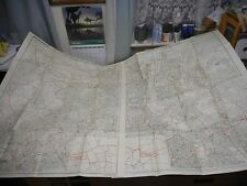 100% ORIGINAL LARGE LONDON FOLDING MAPS X2 BY KELLYS  C1969 VGC
