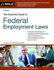 Essential Guide to Federal Employment Laws, DelPo, Amy, Guerin, Lisa, Good Condi