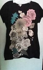 Maurices Womens XL Short Sleeve Blouse Ladies Casual Tops Tee Top T-Shirt Shirt
