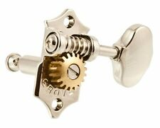 NEW Grover Original 3x3 STA-TITE Guitar TUNERS 18:1 Vertical  V97-18NA - NICKEL