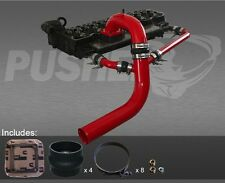 Pusher Intake Manifold and Cross-Air 03-07 Dodge Cummins, Gloss Red Powder Coat