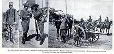 Les nouveaux uniformes de l'armée italienne historique des enregistrements de 1909