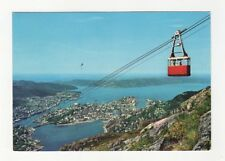 Norway Bergen Ulrikksbanen 1975 Postcard 088b