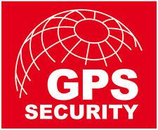 4x GPS ORTUNG GPRS SECURITY ALARM AUFKLEBER | OBJEKTSCHUTZ KFZ PKW LKW MOTORRAD
