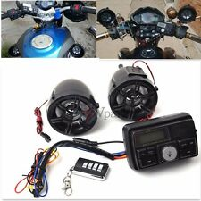 USB/SD Motorcycle Handlebar Audio System FM Radio Stereo Amplifier Speaker MP3