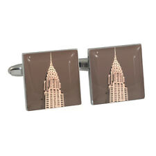 Chrysler Building New York USA Cufflinks Cuff Links New