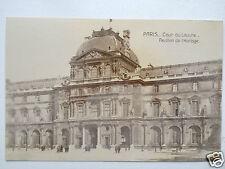Paris Cour du Louvre Pavillon de I'Horlage