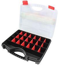 31cm plastique organisateur stockage boîte à outils 23 compartiment pièces vis clous