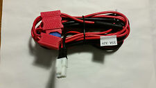 HYTERA POWER CABLE HARNESS KENWOOD HAM TWO WAY CB BENELEC 15A FUSE HOLDER