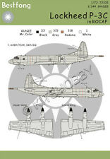 Bestfong Decal 1/144 Lockheed P-3 Orion 439th TCW R.O.C. (Taiwan) AF