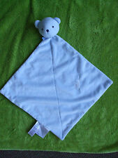 Precious first carter's  blue comforter blankie blanket snuggle
