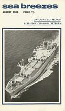 Sea Breezes shipping Aug 68 Belfast Bristol Channel Hamburg South America Etive