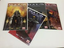 HALO UPRISING #1-4 (MARVEL/BENDIS/MALEEV/XBOX/VIDOEo GAME/021624) COMPLETE SET 4