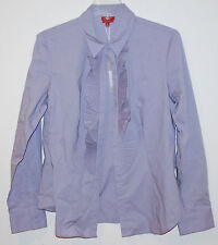 NEW Womens Talbots Button Down Shirt Top Blouse Blouse lilac Jabot $89 size 10