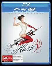 Nurse 3D (Blu-ray, 2014) Brand NEW & sealed