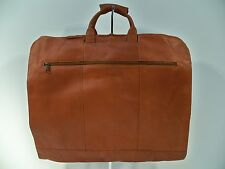"Colombian Top-Grain Leather 36"" Garment Sleeve Bag, Factory 2nd"