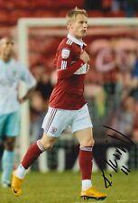 Middlesbrough mano firmato tarmo deviazione 12x8 FOTO 2.
