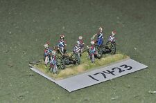 15mm napoleonic french artillery 2 guns & crews (17423)