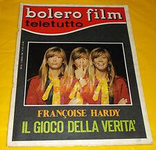 BOLERO FILM 1967 n. 1061 Francoise Hardy, Brigitte Bardot, Claudia Cardinale