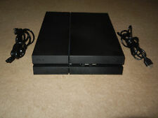 Sony Playstation 4 PS4 MATTE BLACK 500GB Console Unit+HDMI-NO CONTROLLER/GAME