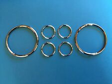 Daimler Conquest Century Instrument Chrome Rim Set