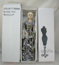 2011 TYLER WIGGED PLATINUM BLOND HAIR GREEN EYES TONNER DOLL - NRFB!   STUNNING!