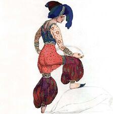 LÉON BAKST BALLETS RUSSES Russian Costumes Opéra Œ 1927