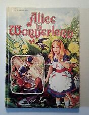 ALICE IN WONDERLAND CARRUTH/ GORDON KING 1976 1ST US ED GOLDEN BOOK CLASSICS VG+