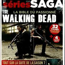 THE WALKING DEAD SAISON 7 LA BIBLE DU PASSIONNE+4 POSTERS+32 FICHES CINESAGA N°5