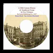 20th Century History of Southwest Texas; In Two Volumes