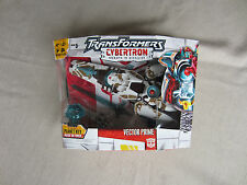 Transformers cybertron Action Figure Voyager Vector Prime +Syber Plant Key MISB