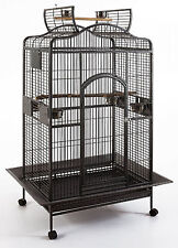 Large Open Play Top Bird Parrot Cage Cockatiel Macaw Conure Aviary Finch 853